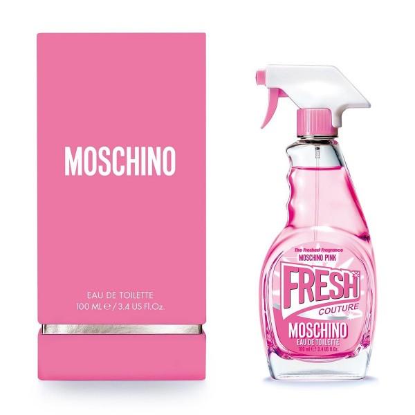 Moschino pink fresh couture eau de toilette 100ml vaporizador