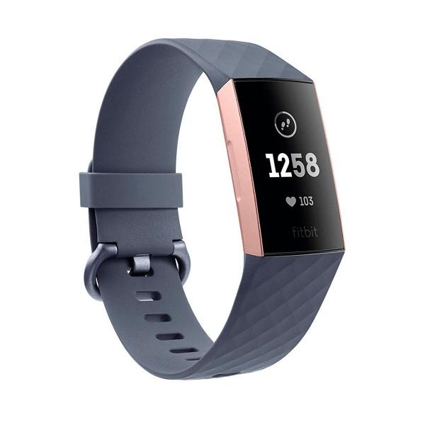 Brazalete con Cierre Seguridad para Smartwatch Fitbit Charge 2 Tamaño S Negra